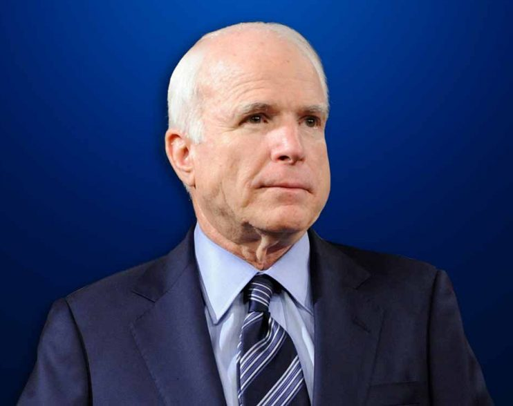John McCain diagnosed with brain cancer